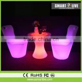 flashing led chair Multi color for nightclub oem service rf wireless touching led controller