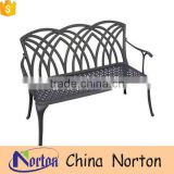 Furniture garden decorative iron bench from factory NTIRH-006Y