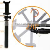 Newly Cable Take Pole Foldable Monopod Mini Wired selfie stick for fujifilm instax camera