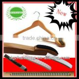 (Silicone Anti-slip strip) Classic cedar wooden hangers of CHINA