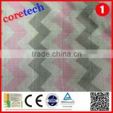 Anti-bacterial washed cotton printed muslin baby fabric factory