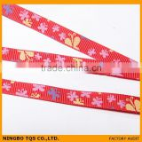 3/8 Inch Butterfly Printed Wholesale Ribbon