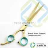 Gold Shear Professional barber Hair scissors
