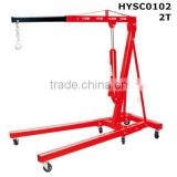 2T New price hydraulic truck crane