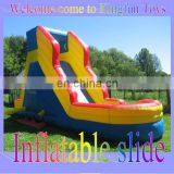 Mini inflatable kids slide