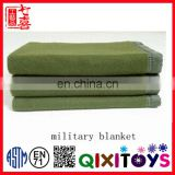 made in china 100% polyester military blanket Polar fleece blanket recycled material army military blanket