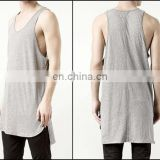 Essential Tank Extended Silky Long Tank Top Back Long Viscose Cotton SUMMER