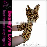 Beauty`s Love Sexy Women Wear Cheap Leopard Color Gloves