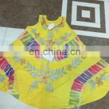 latest gown dress tie dye dress round dress rayon dress coverup beach dress