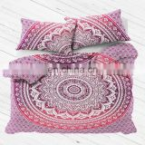 wholesale home textile flat sheet cotton mandala duvet cover