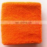 Sports Cotton Orange Sweatbands