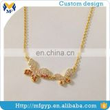 China factary sale custom high end fashion jewelry necklaces