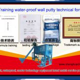 waterproof wall putty technical formula
