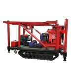 100 m,150 m,180 m,200 m small mobile borehole water well core drilling rig for sale