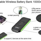 10000mAh wireless charger