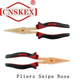 Non Sparking Pliers Snipe Nose Tools