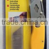 Utility foldable knife with blades pen knife