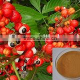 100% natural Guarana Extract 10% Caffeine from seed