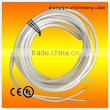 Electric heat trace cable to anti-frost with drainpipe heating wire
