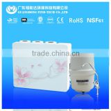 Wall hanging 5 stage reverse osmosis water purifier filter with LED display domestic price