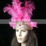 Party Decorations for Girls with a Feather Headdress Princess