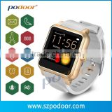 GPS smart watch with pulse rate monitor for elderly. Heart rate Sensor SOS Smart Watch Phone