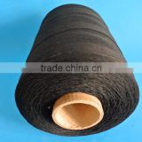 A206 black 100 virgin polyester industrial bale sewing thread