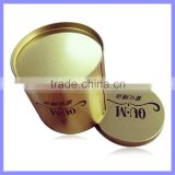 Customize Service Tea/Tobacco/Candy Storage Round Empty Cookie Tin Box