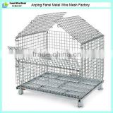 Low carbon folding steel pallet rack for Cargo & storage equipment                                                                         Quality Choice
