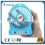 coffee cup designed mini plastic fan blade 90 degree rotary speed control usb desk fan wall hanging electric air blower fan