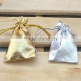 gold silver jewelry small storage pouch bag