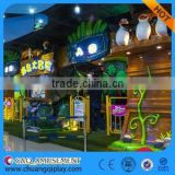 Customized amusement park equipment JUNGLE SAFARI for child theme rides laser game