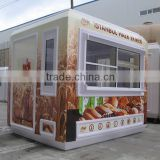 CE approved ODM apprecaited mobile coffee shop,portable coffee shop ,coffee shop counters