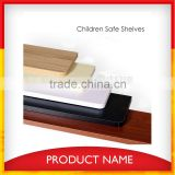 2015 Melamine Faced MDF Floating shelf wood with hidden bracket MDF Wall commodity Shelf