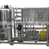 Two Stage RO Purifying Equipment / Commercial Water Purification System / Water Treatment Plant