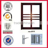Environmental friendly,sound proof solid wooden double door