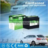 Hot sell Shenzhen EverExceed high quality long life n100 12v 100ah dry charged auto car battery