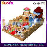 cheap playhouses for kids outdoor,inflatable funcity bouncer park, inflatable entertainment children playground