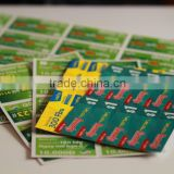 high quality scratch off prepaid calling card printing
