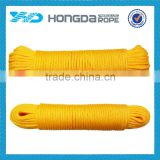 4mm braided packing rope/package twine/baling rope