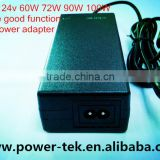 19v 4.7a ac dc apapter,60W-100W laptop adapter