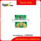 C250 252 drum chip for konica minolta color