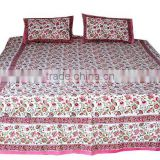 Living room reflects lifestyle exclusive cotton bedspread bed sheets bed cover from india