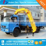 Folding type crane XCMG Brand Truck with crane New arrival competitive price for sale