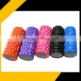 EVA yoga foam roller for body training Grid Foam Roller
