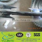 ISO BV&SGS certified stainless steel concertina razor barbed wire/flat razor barbed wire