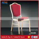 HB-686 wholesale high quality rental cheap price steel banquet hall chair for sale                                                                                         Most Popular