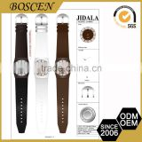 Customizable Cheap Prices Pantone Color Stainless Steel Back Quartz Bangle Watches