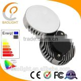 Factory supply cheap 6w 110V / 240V aluminum warm white round GX53 led cabinet light fittings
