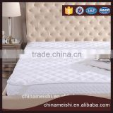 100% Polyester Terry loop Waterproof mattress pad&mattress protector for hotel /home
